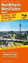 Nordrhein-Westfalen West. Straßen- und Freizeitkarte 1 : 200 000
