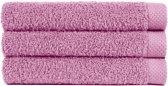 Handdoek 50x100 cm Uni Pure Royal Lila - 4 stuks