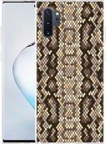 Galaxy Note 10 Plus Hoesje Snakeskin Pattern