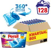 Persil Duo Caps Color Wasmiddel - 128 wasbeurten - Kwartaalbox