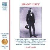 Liszt: Complete Piano Music Vol 10 / Jeno Jando