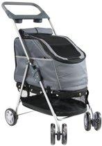 Petcomfort Buggy - Hondenbuggy - Grijs - 44x60x94 cm