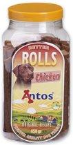 Antos Better Rolls Chicken Hondensnack - 400 gr