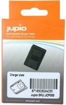 Jupio Accu-frontje voor duo en single oplader - voor Sony accu NP-SP70.