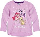 My Little Pony T-shirt-met-lange-mouw-mauve - Maat 110