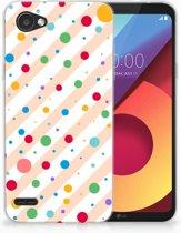 LG Q6   LG Q6 Plus TPU Hoesje Design Dots