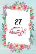 27th Birthday Journal