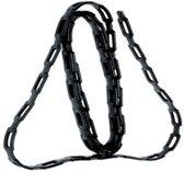 Hendrik Jan kettingband zwart 125 cm (2x)