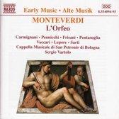 Early Music - Monteverdi: L'Orfeo / Vartolo, Carmignani, etc