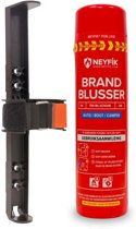 Neyfik spray-blusser set 750 ml Auto, Boot, Camper incl. houder voor in de auto. spray brandblusser