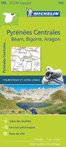 Pireneos centrales 11145 carte zoom michelin kaart