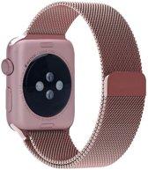 Merkloos Milanees bandje - Apple Watch Series 1/2/3 (42mm) - Rosé Goud