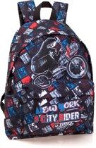 Rugzak - New York City Rider - voor Jongens