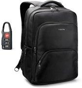 Tigernu Guard - Laptop rugzak - Anti Diefstal USB - 12,5 tot 17 Inch - zwart