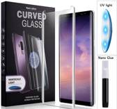 Full Glue Nano Tempered Glass voor Samsung Galaxy S10 Plus - INCL UV