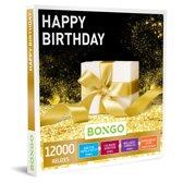 Bongo Bon Nederland - Happy Birthday Cadeaubon - Cadeaukaart cadeau voor man of vrouw | 12000 belevenissen: culinair, wellness, overnachting, sportief en meer