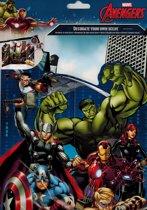 Stickervel met beloningsblad Disney -  Avengers
