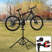 Fiets Montagestandaard - Hoogte verstelbaar, 360° draaibaar, met gereedschapsbakje en stuurhouder - Fietsreparatiestandaard - Fiets montage reparatie standaard - O.a voor racefiets, MTB fietsen standaard - Decopatent®