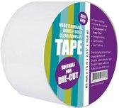Dubbelzijdig Helder Zelfklevend tape 65 mm x 15 meter