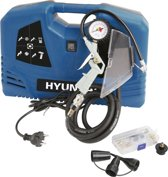 Hyundai compressor compact - 8 BAR - 1100W - 180 L/M - inclusief accessoires