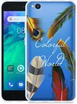 Xiaomi Redmi Go Hoesje Feathers World
