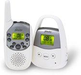 Alecto DBX-92 PMR Babyfoon met groot bereik | Bereik tot 3 kilometer en uitbreidbaar | Wit / Grijs