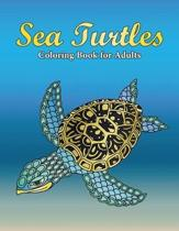 Sea Turtles Coloring Book for Adults