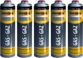 Hozelock 5 x gasfles voor onkruidbrander gas cartridge