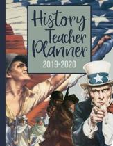 History Teacher Planner 2019-2020