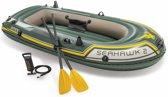 Intex Seahawk 2 opblaasboot met peddels en pomp 68347NP