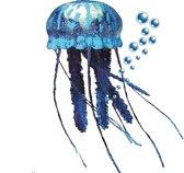 Nobby - Zeekwal - blauw - bewegend door stroming - diameter van 10 CM