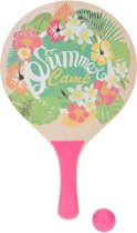Tender Toys Beachballset Roze Summer Camp 35 Cm