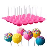 Kitchen Princess - Siliconen Cakepop Bakvorm - Pop Cake Maker - 20 Gaatjes