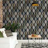 Fotobehang Modern Pattern | VEL - 152.5cm x 104cm | 130gr/m2 Vlies