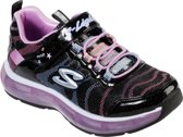 Skechers Light Sparks Meisjes Sneakers - Zwart - Maat 34