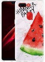 Oppo R15 Pro Hoesje Watermeloen Party
