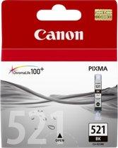 CANON CLI-521B inktcartridge zwart standard capacity 9ml 2.370 paginas 1-pack