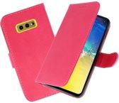 Bookstyle Wallet Cases Hoesje voor Samsung Galaxy S10e Roze