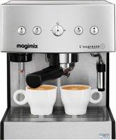 Magimix L'Expresso - Pistonmachine - Mat Chroom