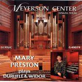 Mary Preston plays Durufle & Widor