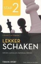 Lekker schaken stap 2 openen/aanvallen/materiaal winnen