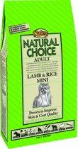Nutro Choice Adult Mini - Lam & Rijst - Hondenvoer - 2 kg