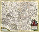 Karte des Landes Thüringen 1690