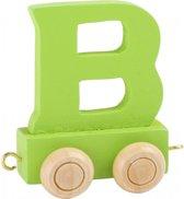 Lettertrein - groen B