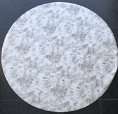 Home Trend Tafelzeil - 160 cm Rond - White Rose Nature
