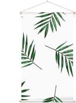 Textielposter Botanisch Bladpatroon 3 - 40 x 70 cm