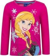 Frozen t-shirt Anna roze 104 (4 jaar) - voor meisjes