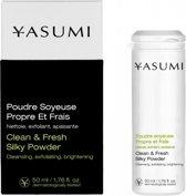 Yasumi Clean & Fresh Silky Powder 50 ml.