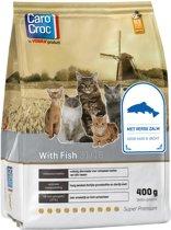 Carocroc With Fish - Gevogelte/Vis/Rijst - Kattenvoer - 400 g