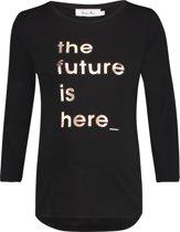 Queen Mum Shirt - Black - Maat L